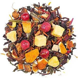 Eistee Pfirsich Früchtetee mit Teemischung (27,5%), aromatisiert