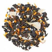 GT Gerösteter Sesam Halbfermentierter Tee mit Fruchtstücken und